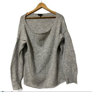 TopShop Oversized Petite Boatneck Sweater size 10